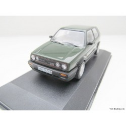 VW Golf 2 GTI 16V green of Corgi Vanguards - only 400 pieces