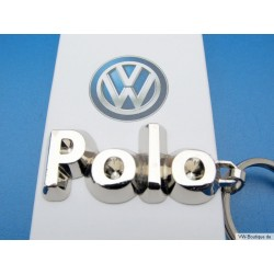 VW POLO lettering keychain ORIGINAL
