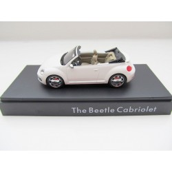 VW Beetle Cabrio weiss in 1:43