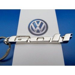 VW GOLF Keychain Sign
