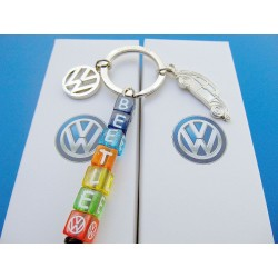 VW Beetle Keychain Set 3 pieces   ORIGINAL