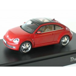 VW Beetle  in 1:43 from Schuco   red   VOLKSWAGEN   NEW 445577