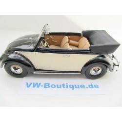 VW Beetle Cabrio in 1:18  Minichamps + 1949 + red-black 107054132