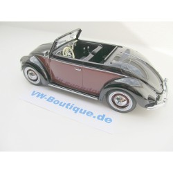 VW Hebmüller Convertible in 1:18 KK Scale red-beige KKDC180111