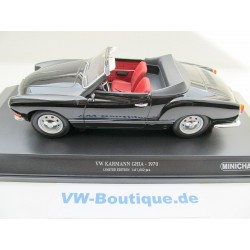 VW Karman Cabrio in 1:18  Minichamps + 1970 schwarz 155054031