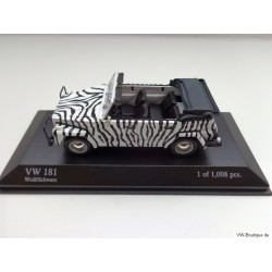 VW 181 Thing Zebra