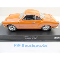 VW Karman Coupe in 1:18  Minichamps + 1970 orange 155054020