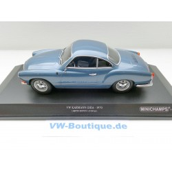VW Karman Coupe in 1:18  Minichamps + 1970 blaumetallic 155054022