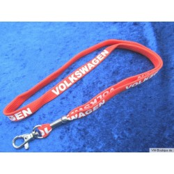 VW Keychain, Original, Red