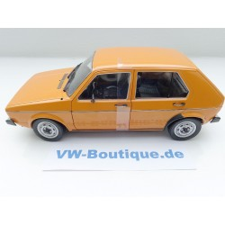 VW Beetle 1303 Yellow Black Racer 1:18 from Solido 183900