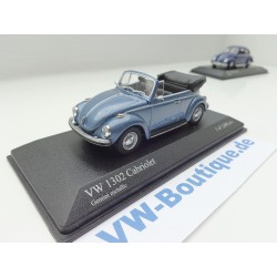 VW Beetle 1302 Convertible blue 1:43 from Minichamps