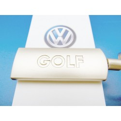 VW GOLF Keychain engraved