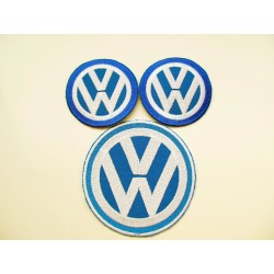 VW Logo Patches Set of 3