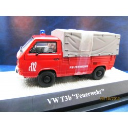 VW T3 b flatbed firefighters 1:43