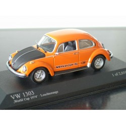 VW Beetle 1303 World Cup 74 1:43 Minichamps