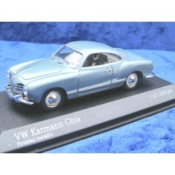 Karmann Ghia in firn blue metallic