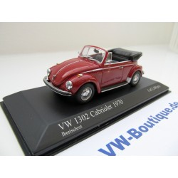 VW Beetle Convertible ibirisch red