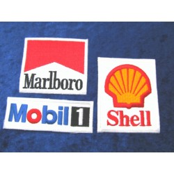 Formula 1 Patches Set - 3 pieces