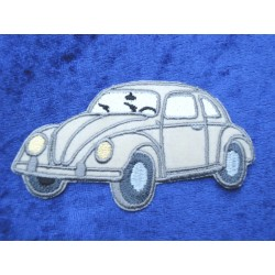 VW Beetle Patches / Sticker Front left beige