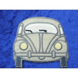 VW Beetle Front Patches beige