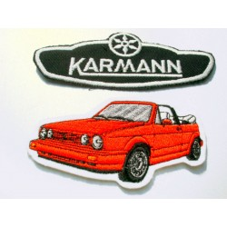 VW Patches Set KARMANN & Golf 1 Cabrio