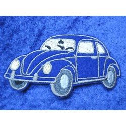 VW Beetle Patches / Sticker Front left black