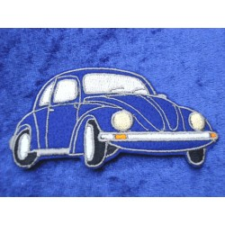 VW Beetle Patches right Front blue