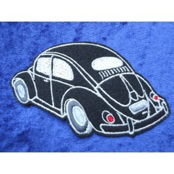 VW Beetle Patches Sticker Patch Ovali Black
