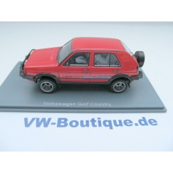 VW Golf 2 Country red