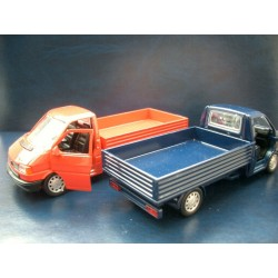 VW T4 flatbed blue 1:43