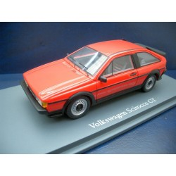 VW Scirocco 2 GT red 1:43
