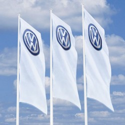 VW banner, Big with 3D Logo