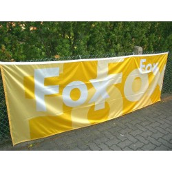 VW Fox Ensign flag ORIGINAL yellow / white
