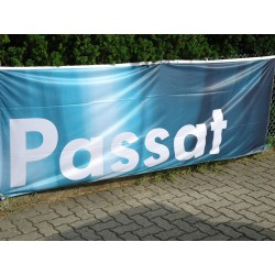 VW Passat Ensign flag ORIGINAL 1 x 3 meters blue / white