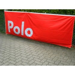 VW POLO banner / flag red/white ORIGINAL