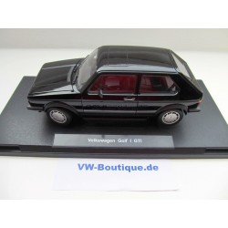 VW Golf 1 GTI Pirelli sunroof Limited black 1:18