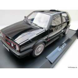 VW Golf 2 GTI G60 black 1:18