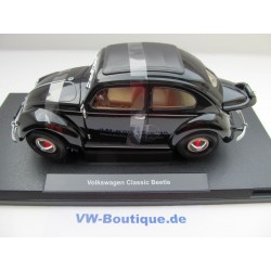 VW Beetle Pretzel 1950 sun roof black 1:18