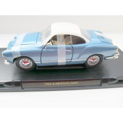 VW Karmann coupe blue / white