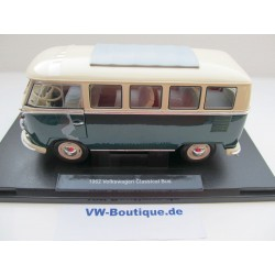 VW T1 bus window Deluxe folding roof green / white NEW