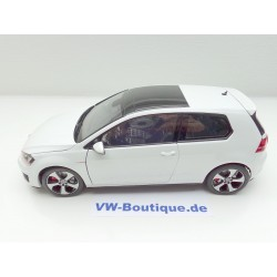 VW Golf 7 GTI from NOREV in 1:18  white metallic  VOLKSWAGEN   NEW