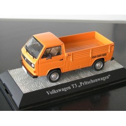 VW T3 a Pritsche kommunal orange 1:43