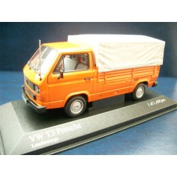 T3 b flatbed orange with tarpaulin