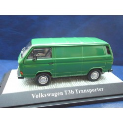VW T3 b panel van escorial green 1:43