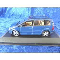 VW Touran GP 1 blue 1:43