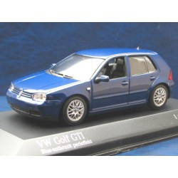 VW Golf 4 GTI blue anthracite pearl effect 1:43
