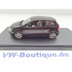 VW Polo 5  6R1 in 1:43 from Schuco + black +  ORIGINAL  NEW