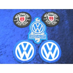 VW Patches Set - 5 pieces as a supporter package