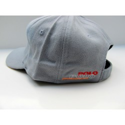 VW POLO cap blue gray with embroidered logo ORIGINAL