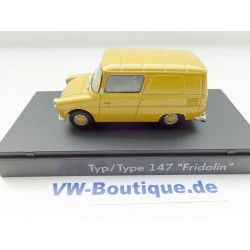 VW Fridolin Typ 147 1:43  from Premium Classixxs * yellow *  247.099.300. .WS9